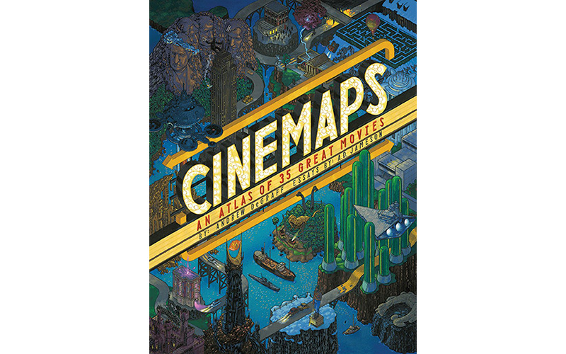... has created beautiful hand-painted maps of all your favorite films 6cd826935f20