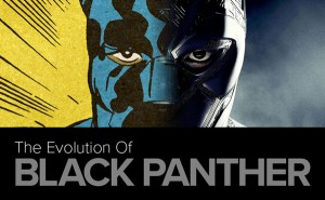 Infographic: The Evolution of Black Panther