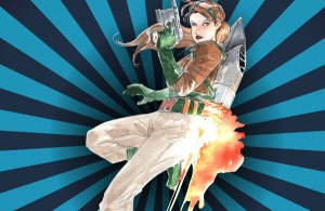 Artist Dustin Nguyen and Atomic Crush Events Unveil Illustration of Jetpack Jules