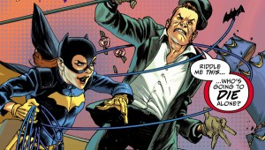 'Batman: Prelude to the Wedding: Batgirl Versus the Riddler #1' (review)