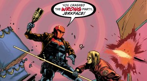 'Batman: Prelude to the Wedding: Red Hood vs. Anarky  #1' (review)
