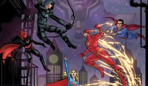 """The CW's """"Elseworlds"""" Crossover Gets the DC Comic Book Treatment"""