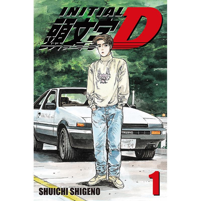 'Initial D' Debuts From ComiXology Originals & Kodansha