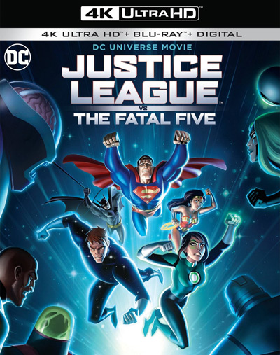 Justice League Vs The Fatal Five Review Forces Of Geek