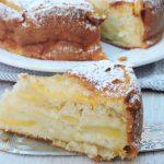 Torta di mele soffice, senza burro e olio