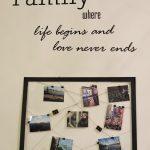 Cornice per foto, come organizzare i nostri ricordi