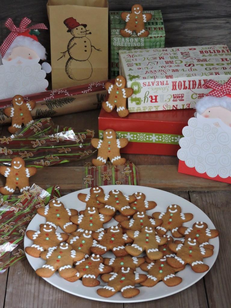 Biscotti pan di zenzero (Gingerbread man)