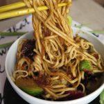 Noodles con verdure, la mia versione