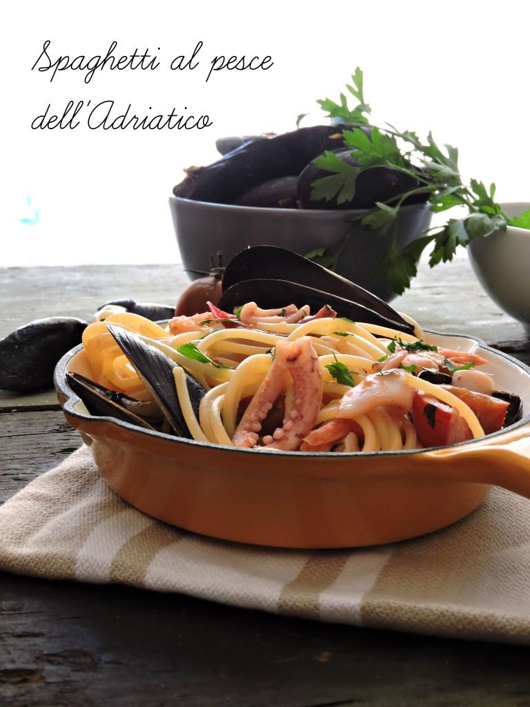 Spaghetti al pesce dell'Adriatico