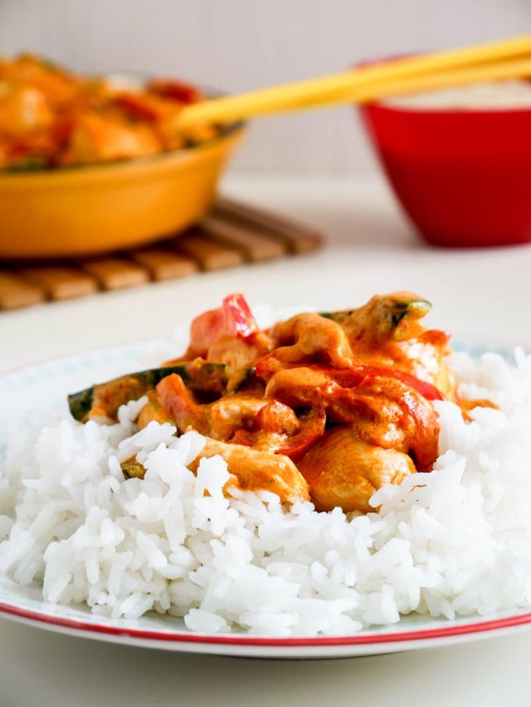 Pollo alla thailandese