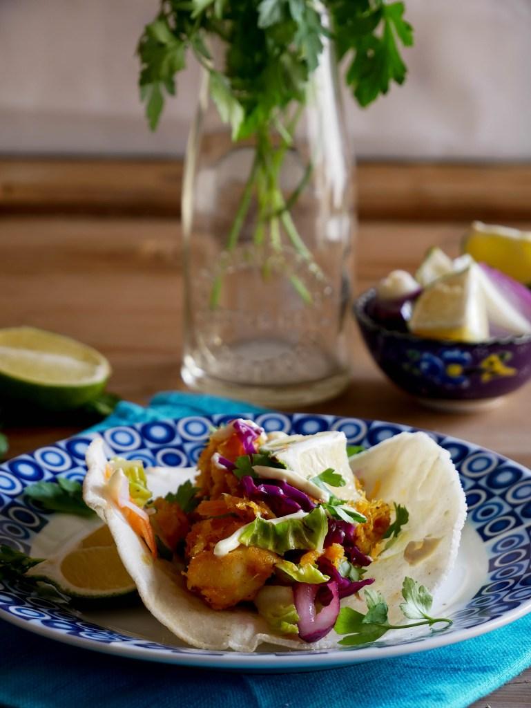 Tacos con stoccafisso