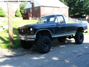 1984 Ford F 150 4x4