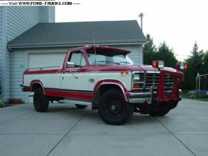1984 Ford F250 4x4The Beast