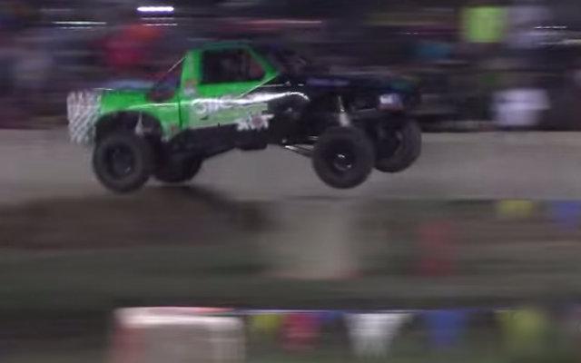 Ford Ranger Jumping at Tough Trucks