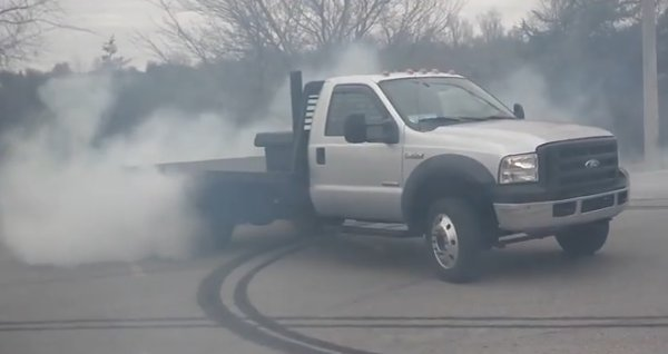 Ford F550 For Sale >> TIRE SMOKIN' F-550 Diesel Rolls Coal and Smokes All Four Wheels - Ford-Trucks.com