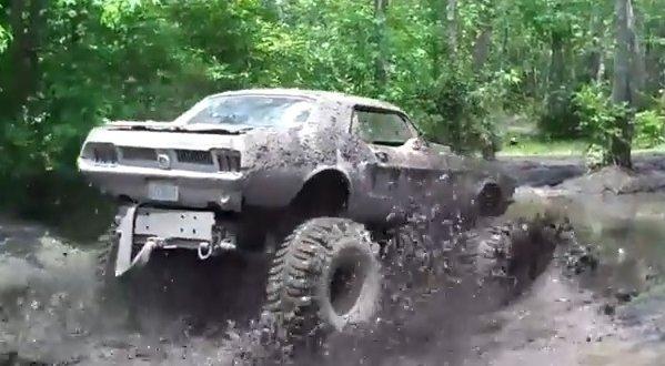 mudding 68 ford mustang 600