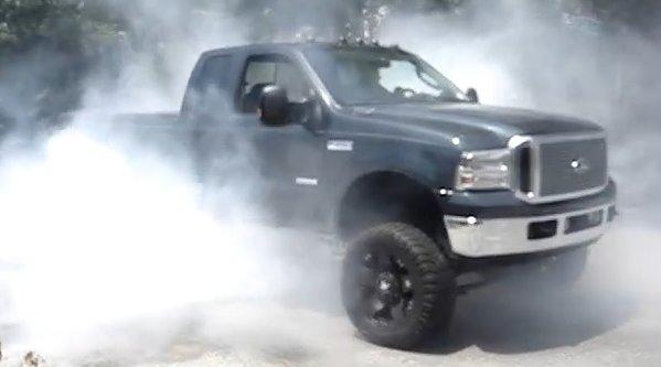 2005 f250 burnout 600