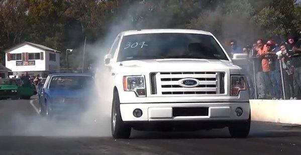 blown f150 quarter mile white 600