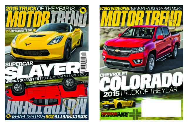 The 2015 Chevrolet Colorado, Motor Trend's 2015 Truck of the Y