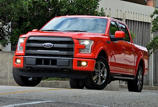 2015 Ford F-150 Official Vehicle of CES.