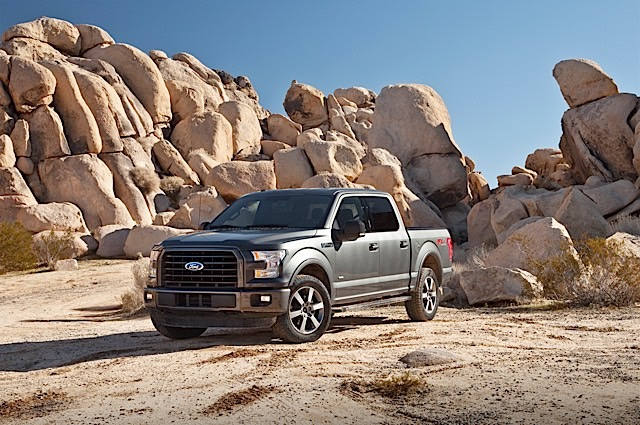 F-150 Is Truck Trend Magazine's 2015 Pickup Truck of the Year