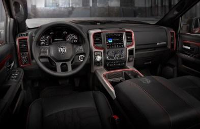 2015 Ram 1500 Rebel Crew Cab 4x4 interior