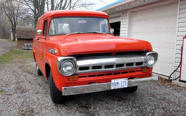 1958 Panel Truck