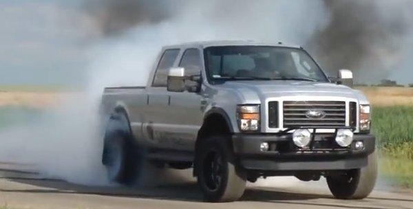 f650 burnout