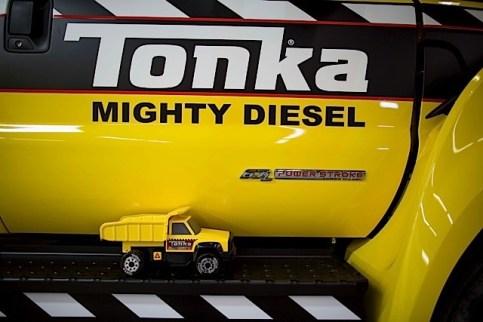 Mighty Ford F-750 TONKA