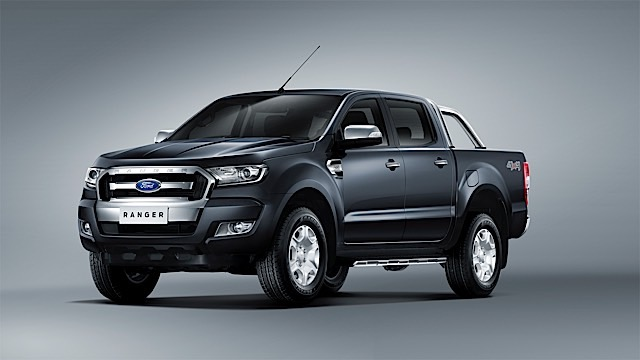 New Ford Ranger 1_Front 3qtr