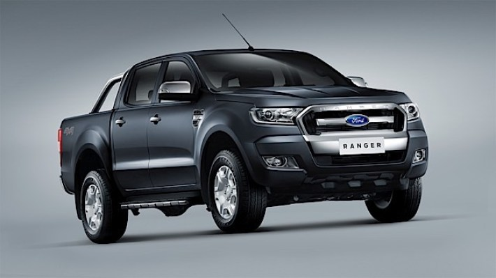 New Ford Ranger 2_Front 3qtr