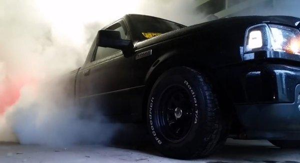 ranger garage burnout