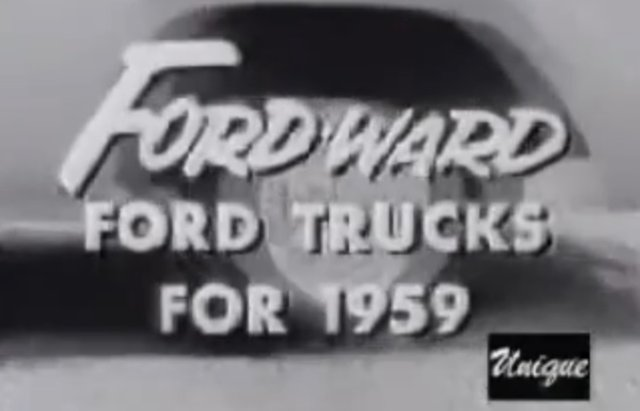 1959 ford truck ad