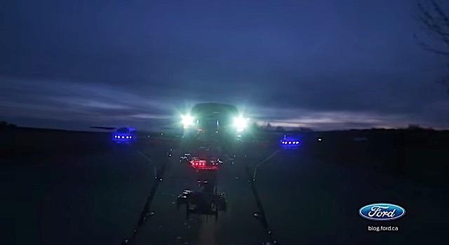 f-150 drone landing 2