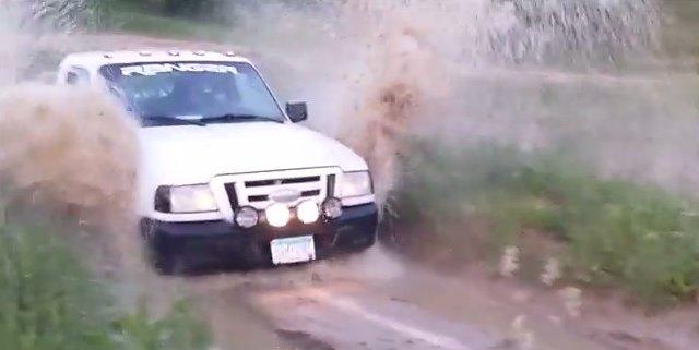 06 ranger mudding