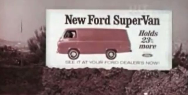 1966 ford supervan
