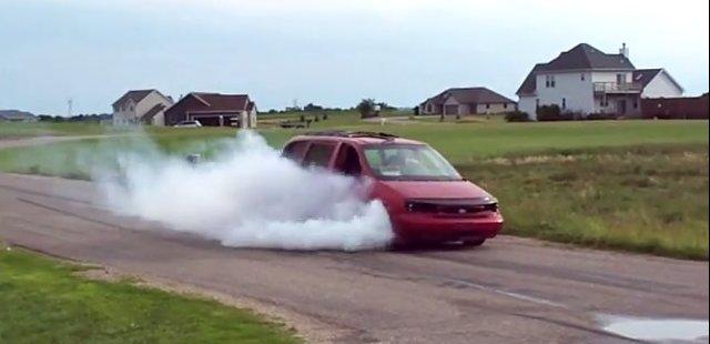 ford windstar burnout