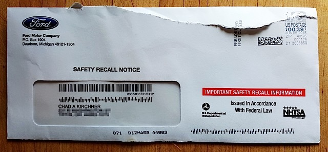 total recall envelope