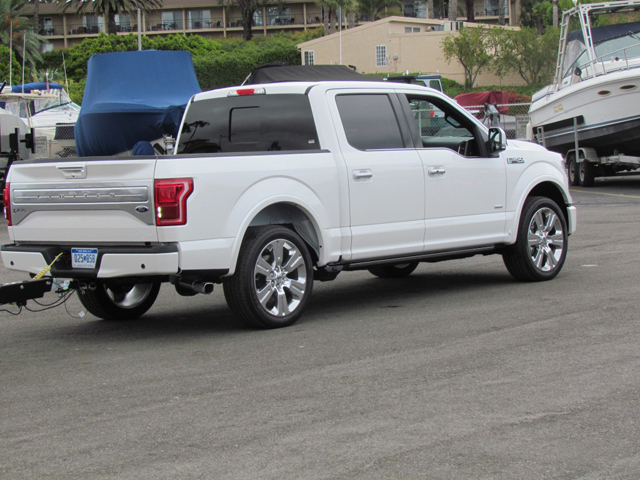 The Big Fat 2016 Ford F 150 Limited Photo Gallery Ford Trucks Com