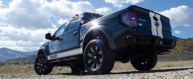 Shelby F150 For Sale >> Shelby Modified Ford Raptor on Patrol in Utah - Ford ...