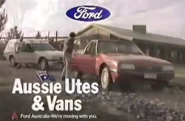 1985 ford falcon commercial