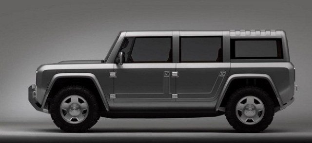 Ford Bronco Concept 4 Door Render