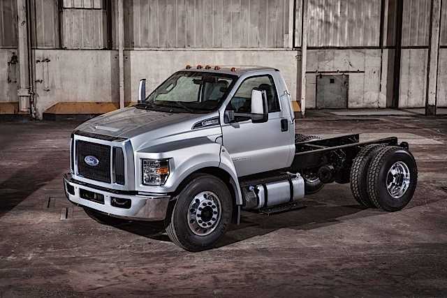 Ford sets a new standard in medium duty pickups with the launch of the all-new 2016 Ford F-650 and F-750, the toughest medium duty pickup, offering great value, and primed for work.