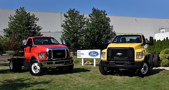 F-650/F-750 at Ohio Assembly Plant