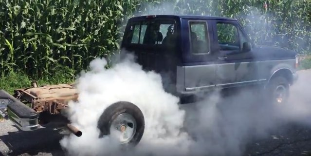 besless 94 f150 burnout
