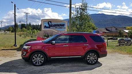 2016 Ford Explorer Platinum Adventure Tour - Kamloops to Calgary - The Calgary Stampede - 20150902_103220