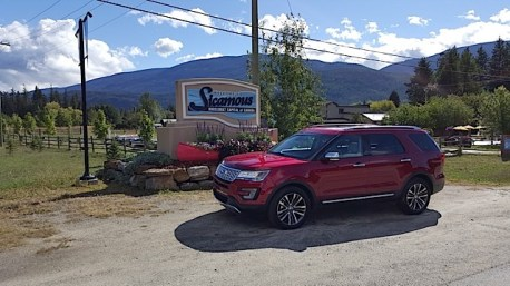 2016 Ford Explorer Platinum Adventure Tour - Kamloops to Calgary - The Calgary Stampede - 20150902_103240