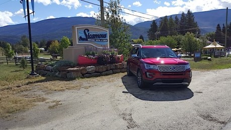 2016 Ford Explorer Platinum Adventure Tour - Kamloops to Calgary - The Calgary Stampede - 20150902_103407