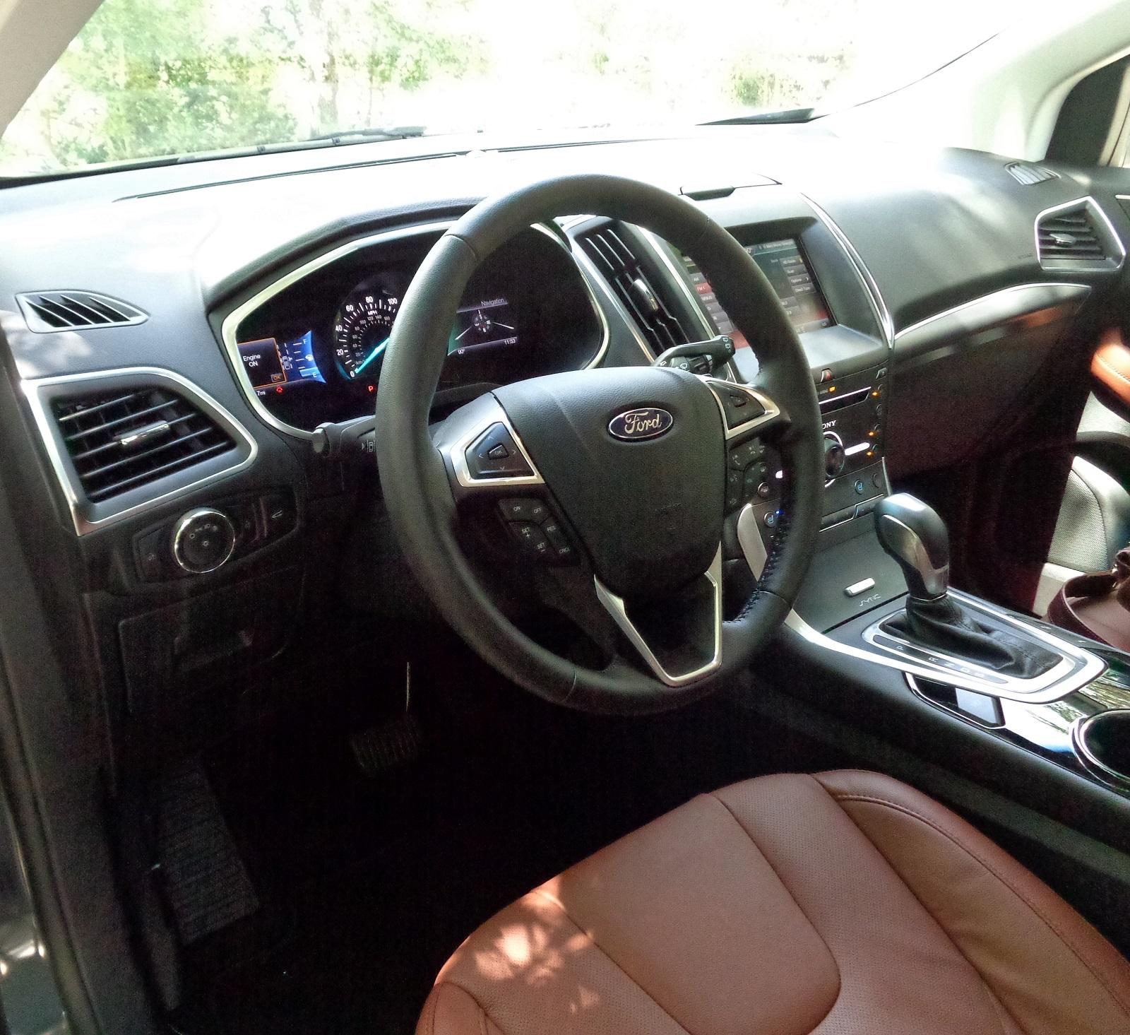 Ford Edge Titanium Awd Is One Sharp Ride