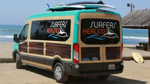 11 Coolest Transits - 5. Surfers Healing's Woody Van